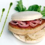 P.7 -Macaron foie gras et compotée oignon-Cabiron
